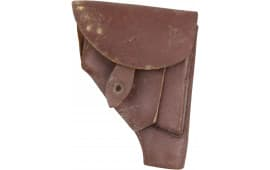 Original Polish Military P64 Pistol Holster Good Grade - Also Fits Makarov pistols, Yugo M70's ... Etc. Brown or Black Leather