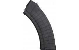Gen III Polish 30rd AK47 Waffle Magazine, 7.62x39, Black Polymer