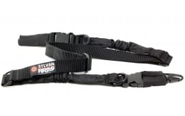 Sylvan Arms Quick Release Two-Point Heavy Duty Rifle Sling - Black - SLG100