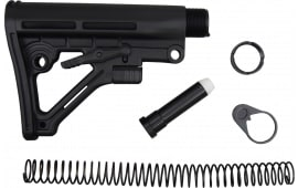 Omega AR-15 Stock Kit Mil-Spec 6 Position Black - WT05B