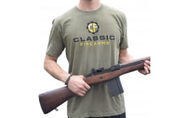 Classic Firearms T-Shirt - Military Green