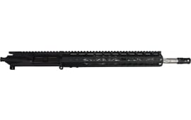 """Charlie Bravo 556 Upper w/ 16"""" Stainless Diamond Cut BBL, 1:9 .223 Wylde w/ 13"""" Free Float 7 sided Keymod Fore End - Less BCG and Charging Handle"""