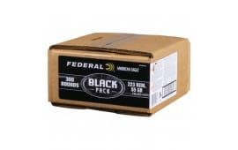 Federal Black Label 223 Rem 55gr FMJ AE223BF300 - 300rd Bulk Pack