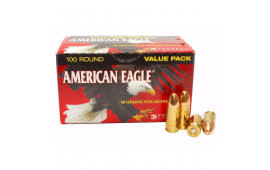 American Eagle 9mm 115gr FMJ AmmoAE9DP- 500rd Case
