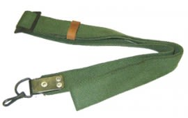 Original Military AK Type Rifle Sling, Also works for SKS rifles.  - Surplus G-VG Condition