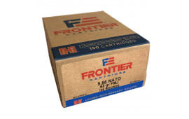 Frontier FR2615 5.56 62 FMJ 150/08 - 150rd Box