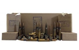 Ethiopian 8mm Mauser Surplus Ammo AM2966 196gr FMJ Lead Core - 300rd Battle Pack