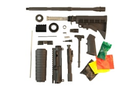 Anderson Basic Gun Kit - M4 AR-15 Rifle Kit Complete Less Stripped Lower Receiver - No FFL Required.