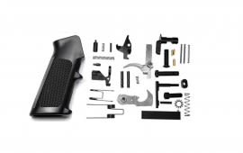 Tacfire USA Made AR-15 Lower Parts Kit with Stainless Steel Trigger & Hammer - LPK-USA-SS