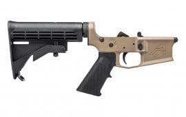 Aero Precision M4E1 Complete Lower Receiver w/ A2 Grip and M4 Stock FDE Cerakote - APAR600102