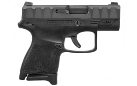 "Beretta APX Carry Semi-Automatic Pistol 3"" Barrel 9mm 6/8rd Magazine - Black - JAXN924"