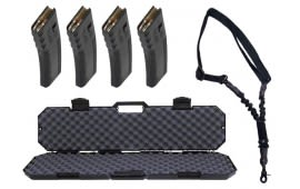 AR Value Pack w/ 4 Mags, Sling and a Hardcase