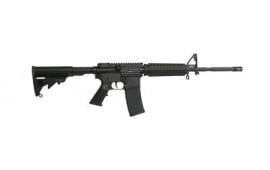 """ArmaLite Defender AR-15 Rifle Semi-Auto .223/5.56 NATO 16"""" FS 30+1 A2 Front 6-Position Black Stk, Black Hard Coat Anodized"""
