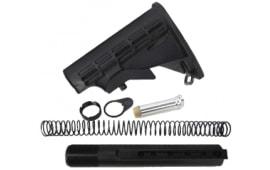 Mil-Spec 6 Position Stock Set, Buffer Tube, Spring, Buffer,Plate Nut .223 Carbine Rifle Kit - ST003M+ST007M