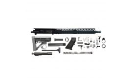 Charlie Bravo AR-15 RIFLE KIT – 16″, .7.62x39 Cal, 1:10, 15″ Gen II  Keymod Free Float Rail , BCG, Charging Handle, Buttstock, Lower Parts Kit - Complete Less Stripped Lower - Mfg # 205-136