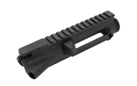 AR15-A3 Forged Upper Receiver, Mil Spec,Stripped Upper W / Hard Black Anodized Finish - Premium Grade