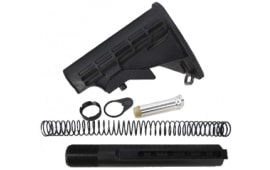 Mil-Spec 6 Position Stock Set, Buffer Tube, Spring, Buffer,Plate Nut .223 Carbine Rifle Kit - ST003M+ST007M