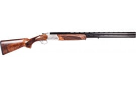 "American Tactical Imports Cavalry Over/Under 20GA Shotgun, 26"" 3"" Turkish Walnut Stock Engraved Receiver - GKOF20SVE"