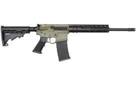 ATI Omni Hybrid Maxx 5.56 AR-15 LTD Rifle - Black/Forest Green - ATIGOMX556KMLTDBFG