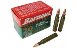 Barnaul 223 REMFMJ55 .223 Remington 55 FMJ 500rd - 500rd Case