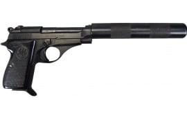 Beretta M-71 Pistol .22LR W / Faux Suppressor, Semi-Auto, Surplus - Good to Excellent Condition