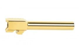 "Glock 17 Titanium Nitride Replacement Barrel - 4.50"" - 9x19 NATO"