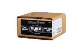CCI Blazer Brass Black Label 9mm 115gr FMJ 5200BF500 - 500rd Bulk Pack