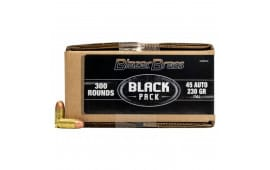 CCI Blazer Brass Black Label 45 ACP 230gr FMJ Ammo 5230 - 300rd Bulk Pack