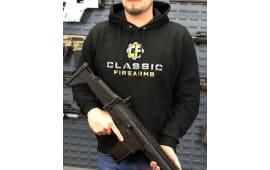 Classic Firearms Hoodie - Black