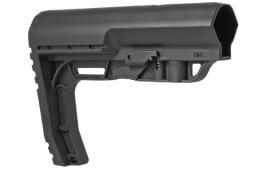 Mission First Tactical Battlelink Minimalist Stock - Mil Spec - Black Polymer