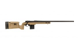 "Howa HKRB72203 Bravo Rifle Bolt 24"" 10+1 KRG Bravo/Aluminum Chassis FDE Stock Black"