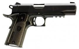 Browning 1911-22 A1 Black Label 22LR Pistol, 4.25in Barrel 10+1 w/Rail Lam Grip Black - 051816490