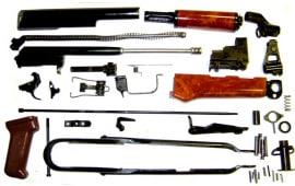 AK-47 Parts Kit Bulgarian Original Milled Underfolder 7.62X39