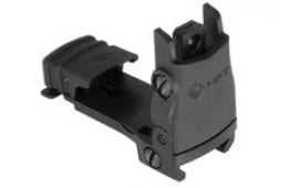 Mission First Tactical Rear Back Up Sight for AR15-M4 Flat Top Configured Rifles - BUPSWR