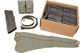 C308 / Cetme Shooters Pkg. W / 25-20 Round Mags, Mag Loader, 2 Pkt Mag Pouch, Sling, and Rifle Cover