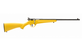 "Savage Arms Rascal 22S/L/LR Rifle, 16.125"" Accu-Trigger Yellow - SAV 13805"