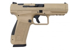 Canik TP9SA 9mm Pistol w/ 2- 18 Round Mags, Hard Case and Accessories Desert Tan Finish - HG3277D-N