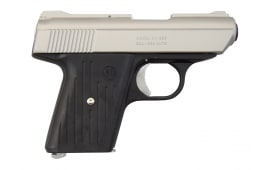 "Cobra C.A. Series Compact .380 ACP Pistol, 2.8"" Bbl, Black Frame and Grips With Satin Slide"