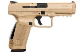 Canik TP9SF 9mm Pistol Desert Finish w/ 2- 18 Round Mags, Hard Case and Accessories - HG3358D-N