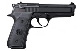 "Chiappa Firearms M9 Semi Automatic Pistol, 9mm Luger, 5"" Barrel, 15 Rounds, Black Plastic Grips, Matte Black Finish"