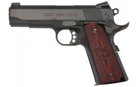 """Colt Lightweight Commander 45 ACP Pistol, 4.25"""" 9rd Blued - CLT O4840XE"""
