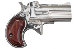Cobra Derringer .22LR, Over / Under, Chrome / Rosewood Grips C22SR