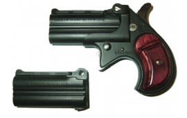 Cobra Derringer Big Bore .38 Special / 9mm Combo Over/Under Black/Rosewood CB38BR2BS