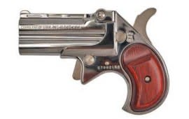 Cobra Derringer Big Bore 9mm Over/Under Chrome/Rosewood CB9CR