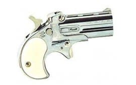 Cobra Derringer .22LR, Over / Under Chrome / Pearl Grips C22CP