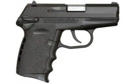 SCCY CPX-1 CB 9mm Polymer Frame Pistol, Black on Black, DAO 10+1 w/ 2 Mags