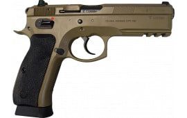 CZ USA 91262 75 SP-01 9mm FDE 18rd