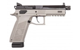 CZ US 75 P-09 9mm Urban Grey Frame, Black Slide 21rd - CZ 91269