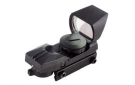 4 Reticle Tactical Red & Green Illuminated Dot Sight W/ Sunshade - D133ES