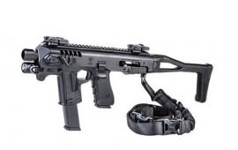 Micro RONI Advanced Pistol-Carbine Conversion Kit w/Flashlight and Popup Sights for Glock 19, 23, 32 - MIC-RONI19-ADVANCED